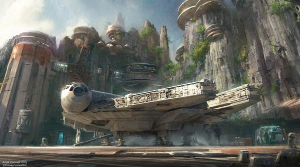 Take a Look and Get to Know Star Wars Land with Newly Released Concept Art