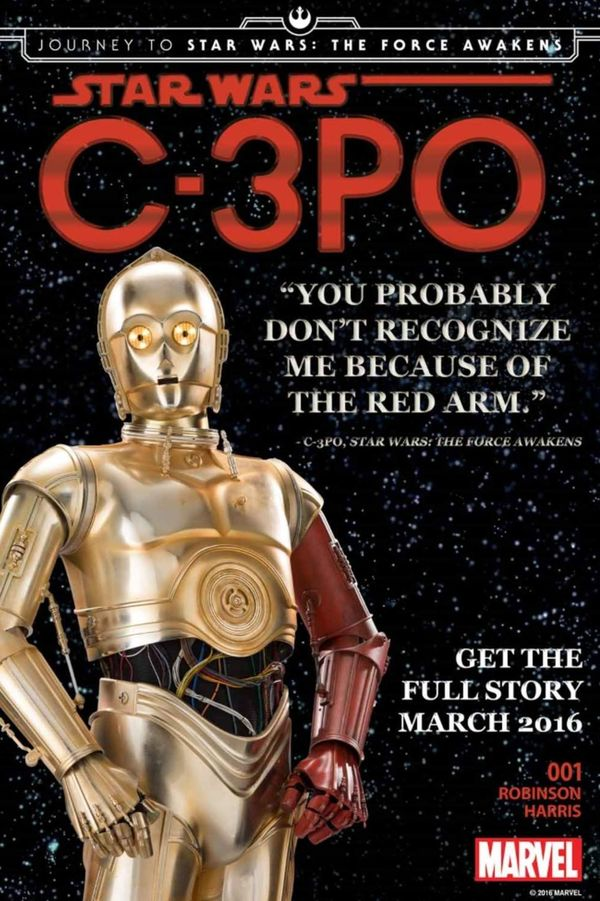 How Did C-3PO Get A Red Arm?