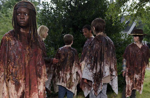 The Walking Dead: Danai Gurira Talks about Michonne's Response in Horror Midseason Premiere