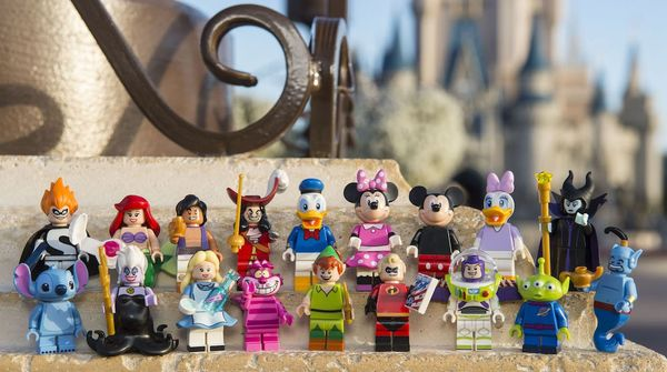 Disney Characters in Lego Form