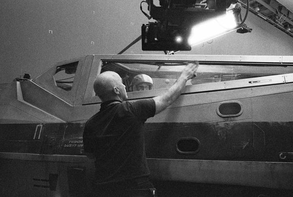 Rian Johnson shares new set photos from Star Wars: Episode V…