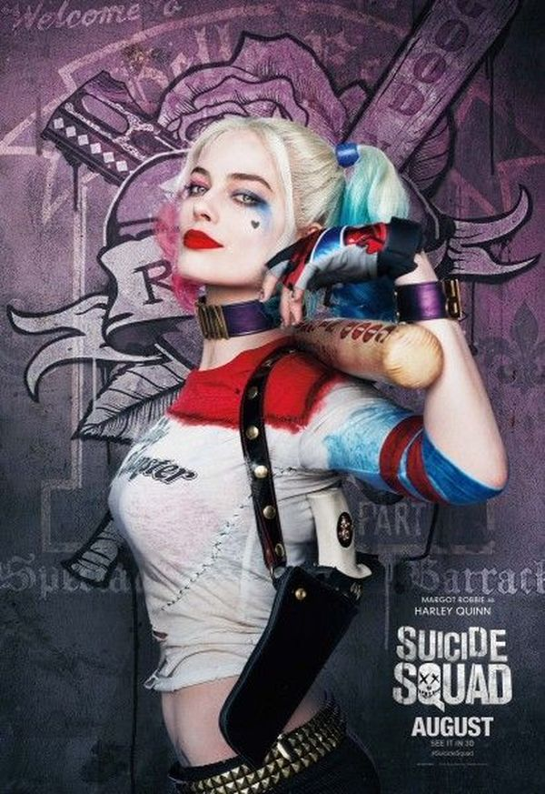 Suicide Squad character posters