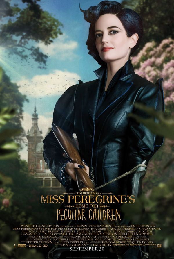 Character Poster for Miss Peregrine's Home for Peculiar Chil