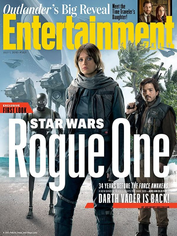 'Rogue One: A Star Wars Story' Trailer Will Air on ABC, July 15th