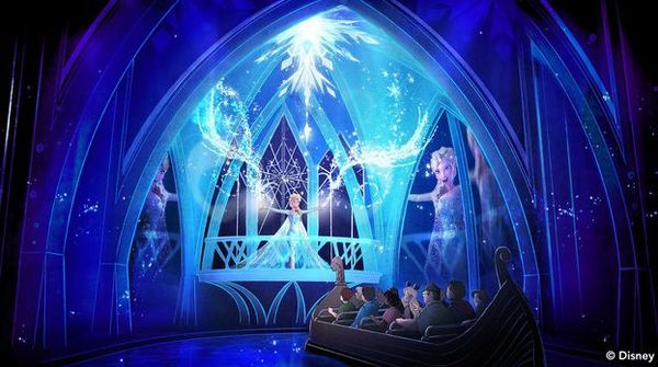 Attraction Based Off of 'Frozen' Opens At Walt Disney World