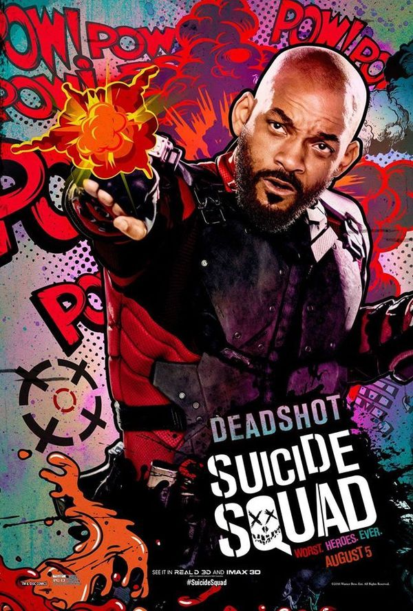 Suicide Squad IMAX character posters