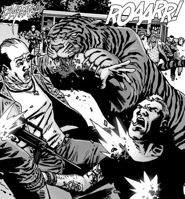 The Most Unlikely Member of the Comic Book is Reportedly on Set for 'The Walking Dead' Season 7