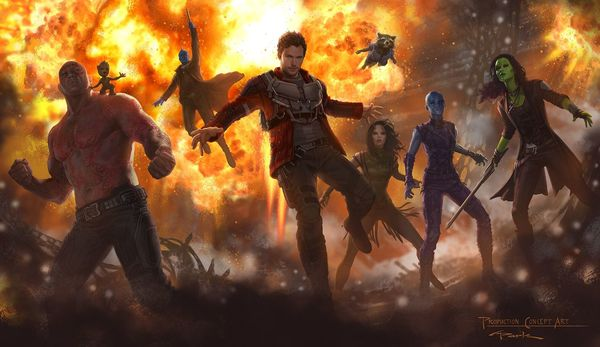 James Gunn Reveals Why the 'Guardians of the Galaxy' SDCC Footage isn't Online