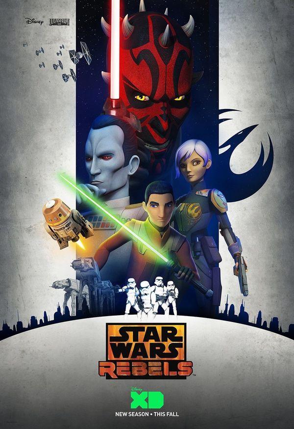 'Star Wars Rebels' Renewed for a Fourth Season at Disney XD