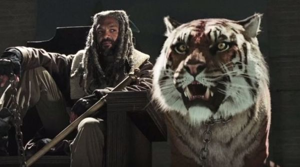 'The Walking Dead' Creator Robert Kirkman on How the Tiger Was Created