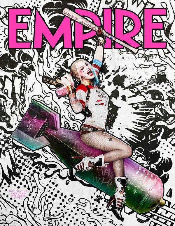 Suicide Squad: Empire magazine exclusive covers
