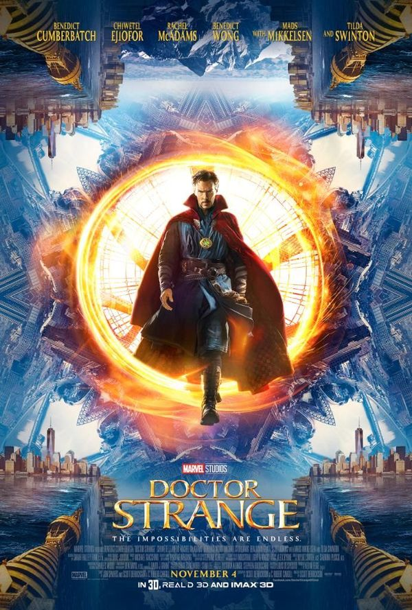 Doctor Strange Expected To Have A $55-$75 Million Domestic Opening Weekend