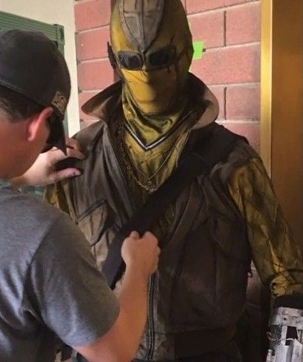 Spider-Man: Homecoming - The Shocker set photos