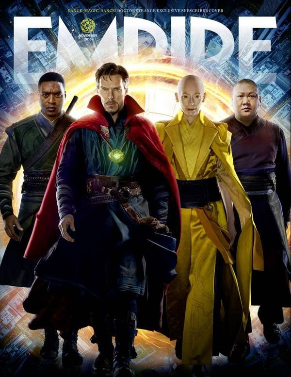 """Doctor Strange"" Empire Magazine covers"
