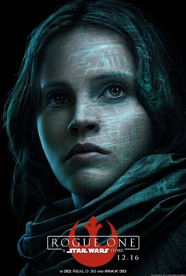 8 New Character Posters for 'Rogue One: A Star Wars Story'