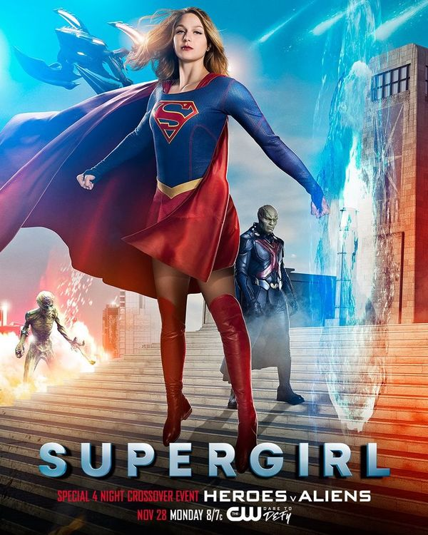 'Supergirl' Sees Ratings Surge as Crossover Kicks Off