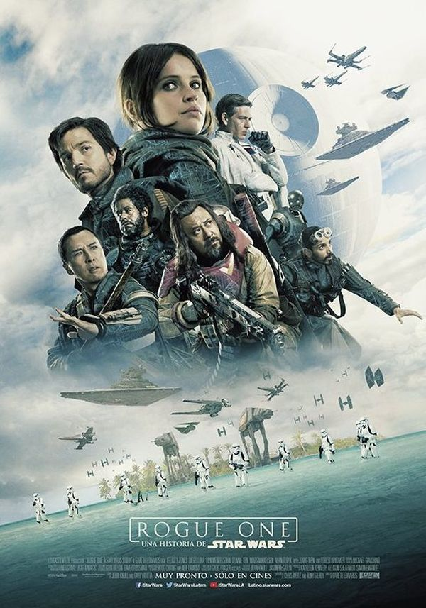 New Rogue One: A Star Wars Story BTS Photos And Posters