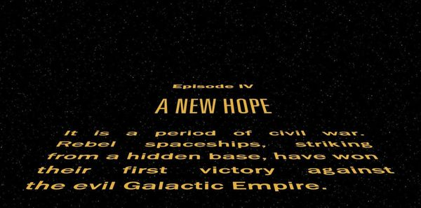 """Crawl Controversy: Star Wars Opening Crawl Creator says """"It's Foolish"""" Rogue One Doesn't Have A Crawl"""