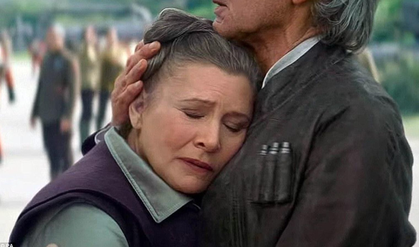 LucasFilm Confirms that Carrie Fisher Will Not Play a Digital Role in Future Star Wars Films