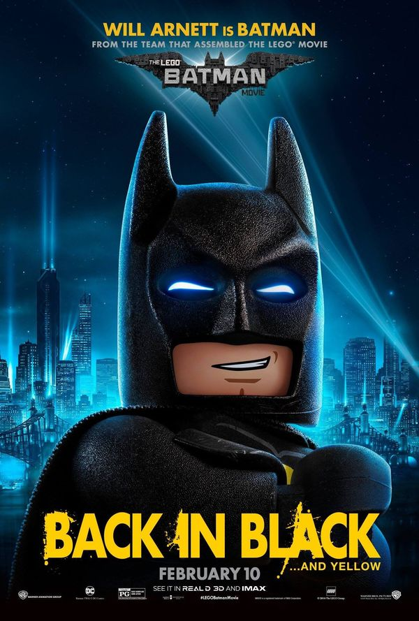 Character Posters Released for 'The LEGO Batman Movie'