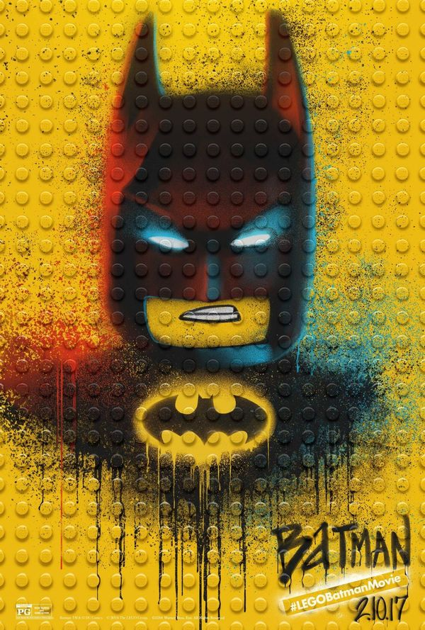 New Posters for The Lego Batman Movie
