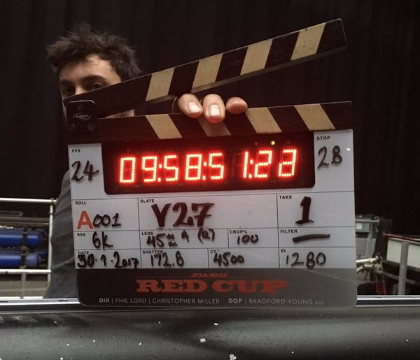 Filming Begins on the Han Solo Star Wars Film, First Set Image