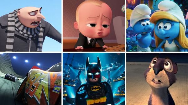 16 Top Animated Movies of 2017