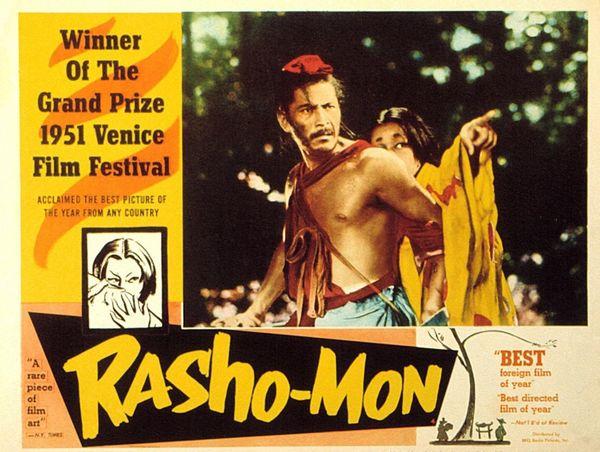 Rashomon: An appreciation of the language of Japanese Cinema