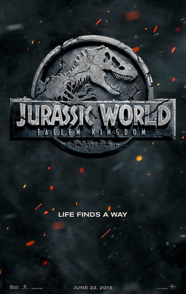 'Jurassic World 2'  Poster Reveals Official Title