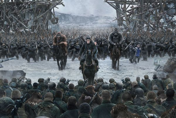 All signs point to 'go see' War for the Planet of the Apes. Get ready.