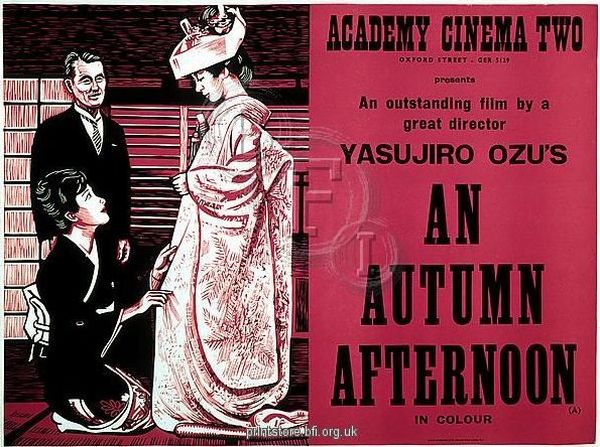 An Autumn Afternoon: Ozu's Last Masterpiece