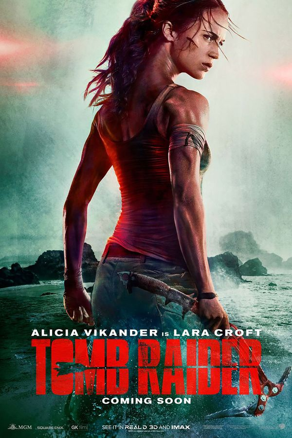 'Tomb Raider' teaser and poster are all about Alicia Vikander