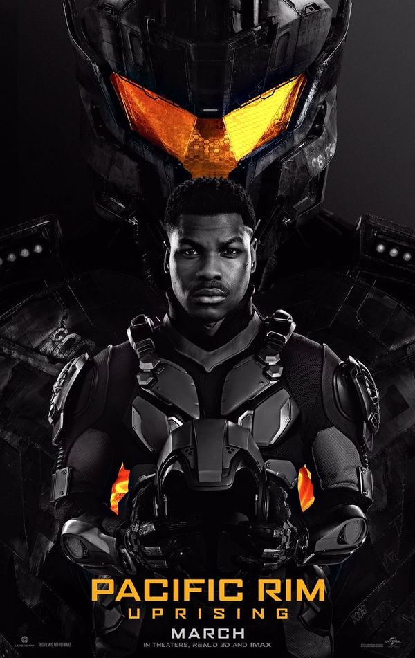 New Poster for 'Pacific Rim: Uprising' features John Boyega and Jaeger Gipsy Avenger