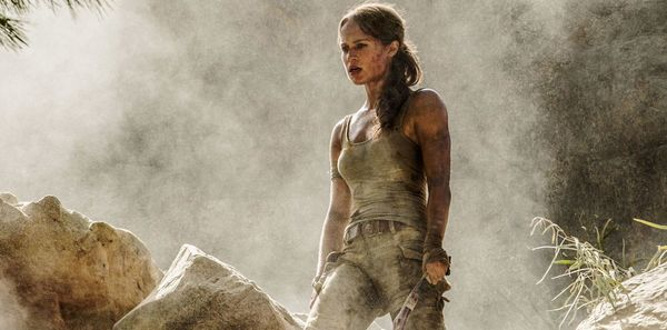 Alicia Vikander journeys into the unknown in the first TOMB RAIDER trailer