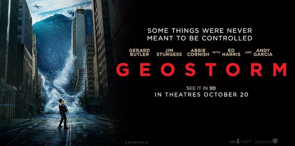 """Geostorm"" Review"
