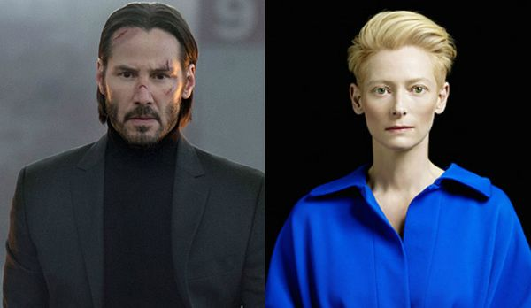 "Casting Couch: Keanu Reeves is 100% onboard with Tilda Swinton joining ""John Wick 3"""