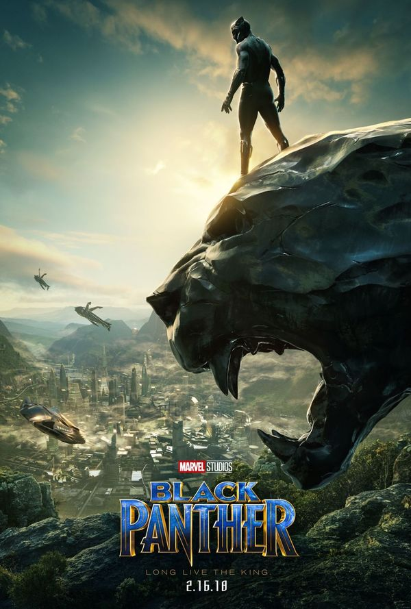 New poster and trailer for Marvel's 'Black Panther'