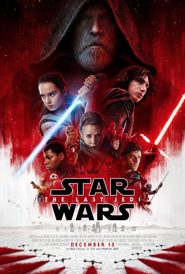 New trailer and poster for Star Wars: The Last Jedi