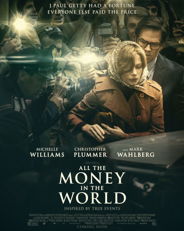 'All the Money in the World' TV spot reveals Christopher Plummer as John Paul Getty