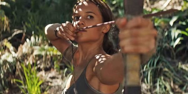 "Alicia Vikander is a badass ""survivor"" in the latest 'Tomb Raider' trailer"