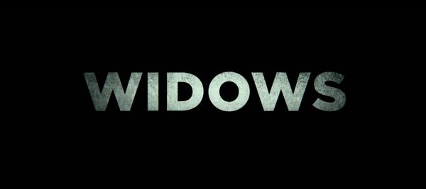 WIDOWS (2018) Review