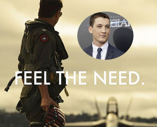 "Miles Teller joins the cast of ""Top Gun 2"""