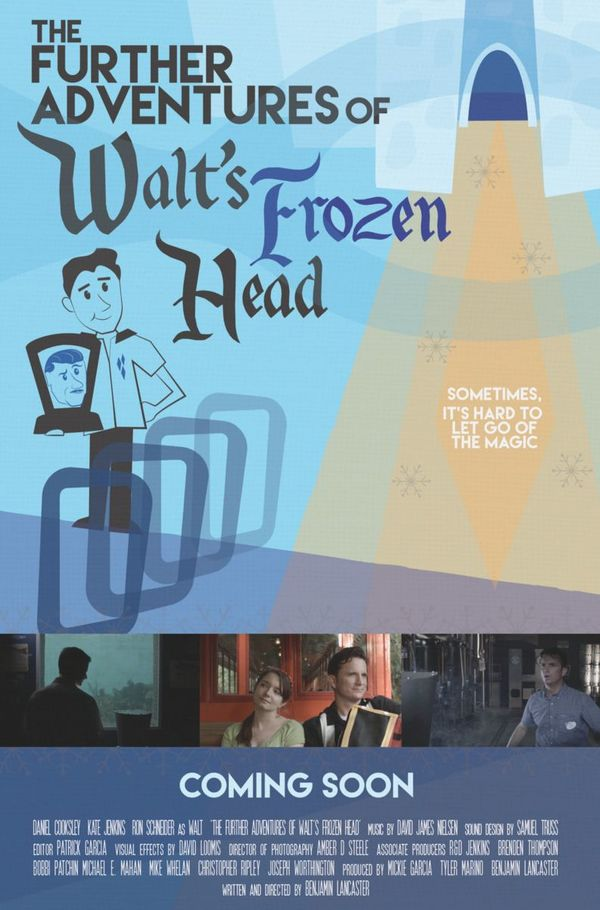 Interview: Director Benjamin Lancaster Discusses 'Walt's Frozen Head' and Filming Inside Disney's Magic Kingdom