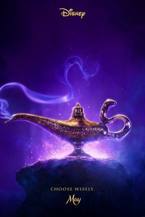 First Poster for Disney's 'Aladdin' Is Revealed