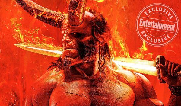 """New 'Hellboy' poster is """"Legendary AF"""""""