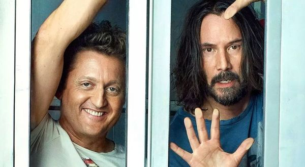 Keanu Reeves and Alex Winter announce the official release date for 'Bill & Ted' 3