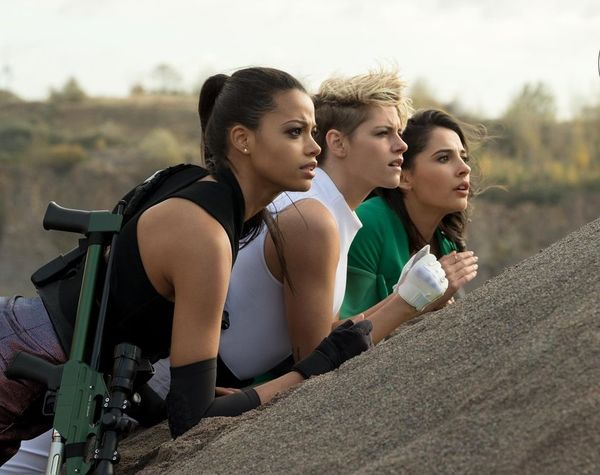 First Look at Sony's 'Charlie's Angels' Starring Kristen Stewart, Naomi Scott, and Ella Balinska