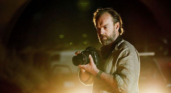 Hugo Weaving has to deal with his past and future in the confronting drama 'Hearts and Bones' (TIFF review)