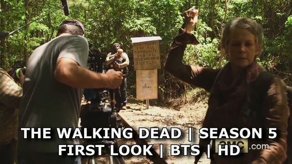 2 Videos Reveal the Season 5 Set of The Walking Dead