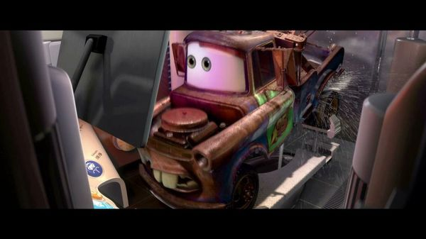 Mater goes to Japanese toilet, Cars 2 | Cultjer